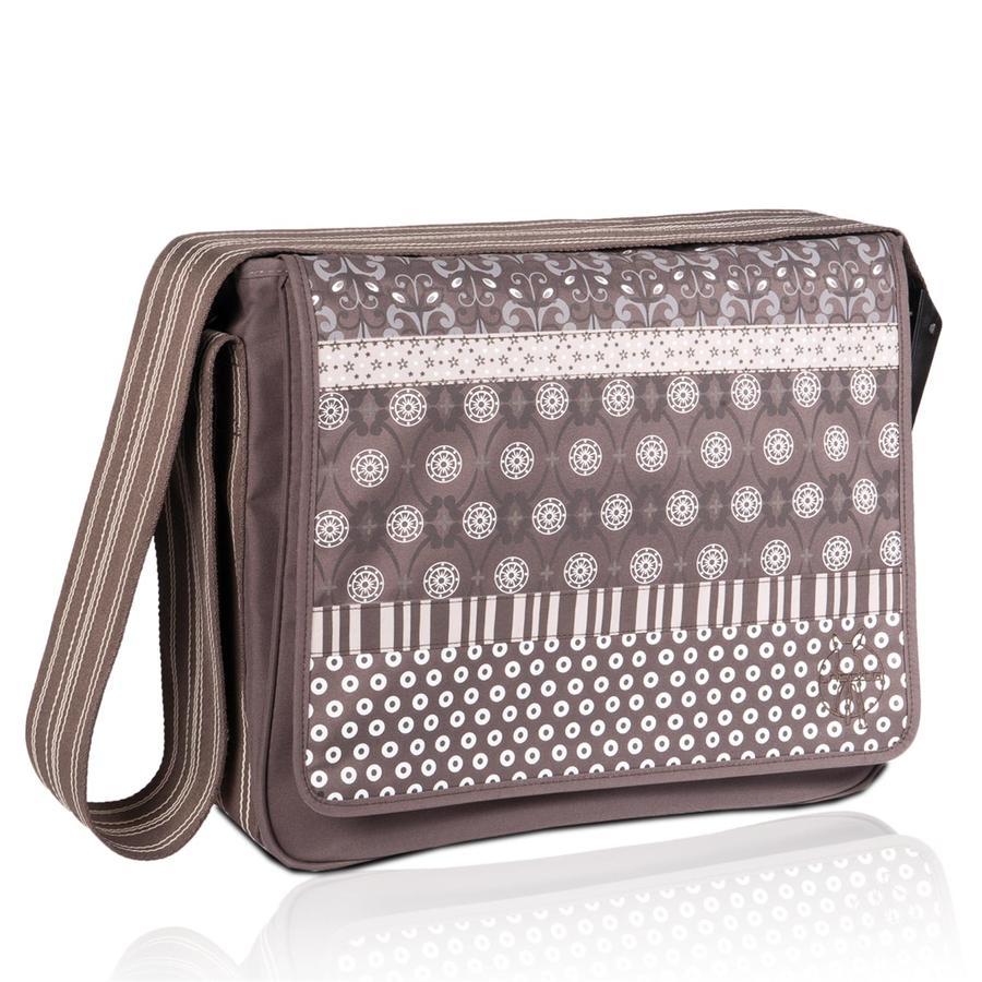 LÄSSIG přebalovací taška Casual Messenger Bag multimix slate