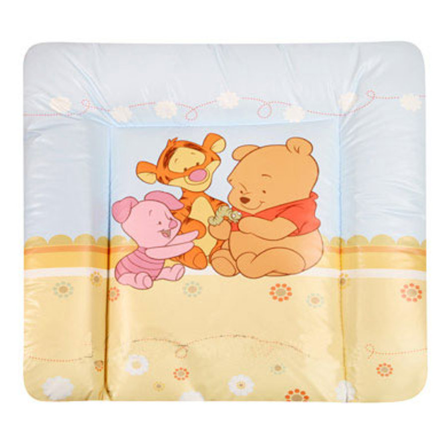 ZÖLLNER Softy Laminated Changing Pad Baby Pooh and Friends Yellow