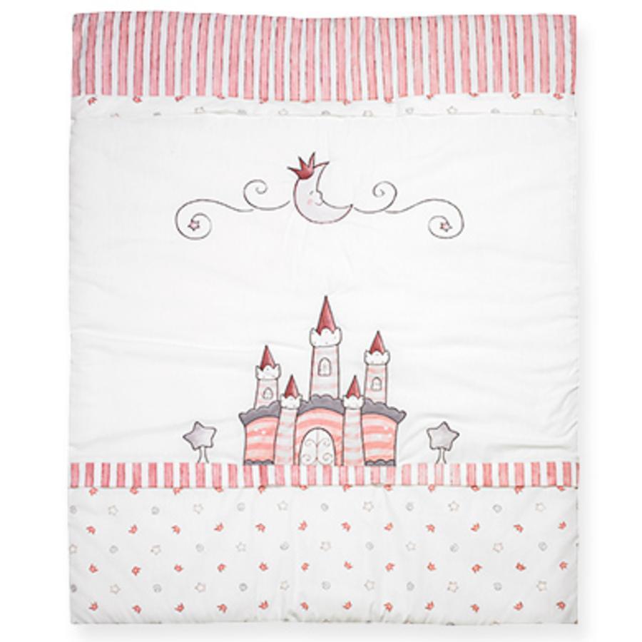 ALVI Speelkleed met stiksel Droomkasteel roze 550-2