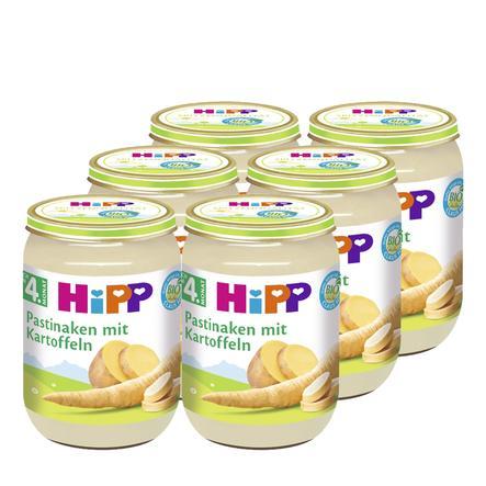 HiPP Bio Pastinaken mit Kartoffeln 6x190g