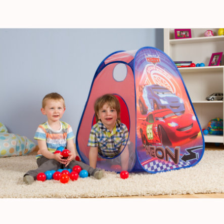 JOHN Pop Up Ball-Haus mit 30 PE-Bällen - Disney Pixar Cars