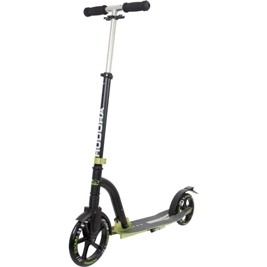 HUDORA Scooter Big Wheel Bold Cushion, grön/svart 14242