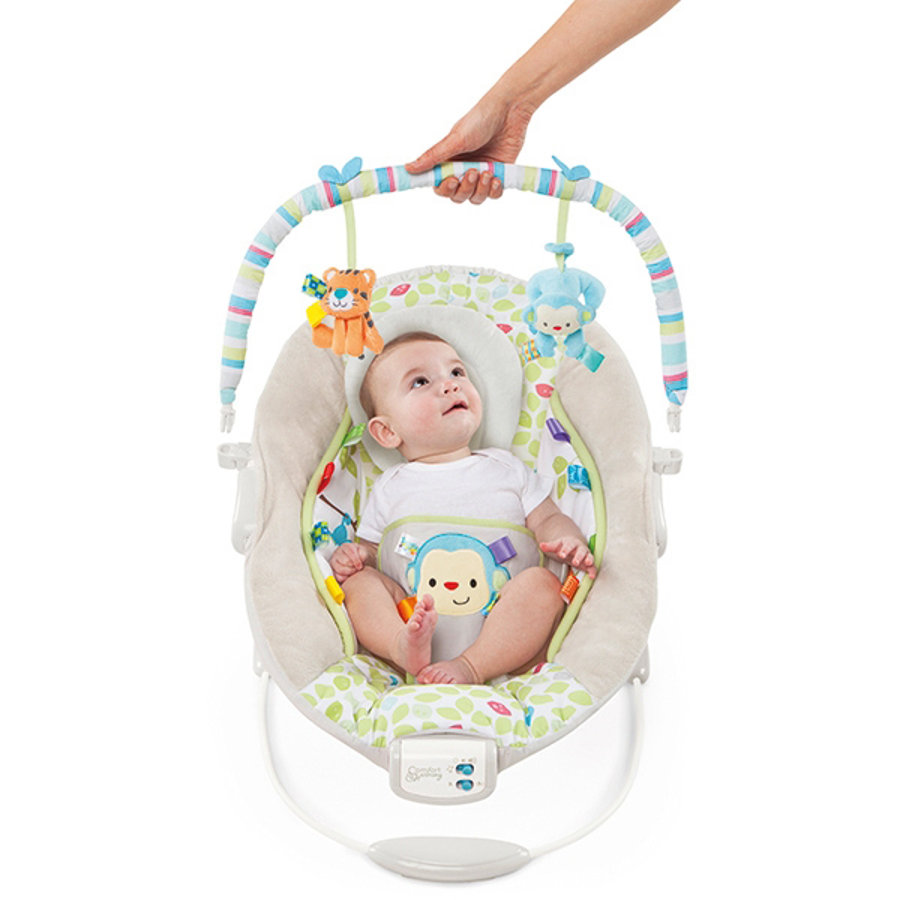 bright starts™ - Cradling Bouncer in Merry Monkeys