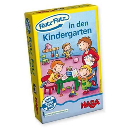 HABA learning game Ratz-Fatz Mini to the kindergarten