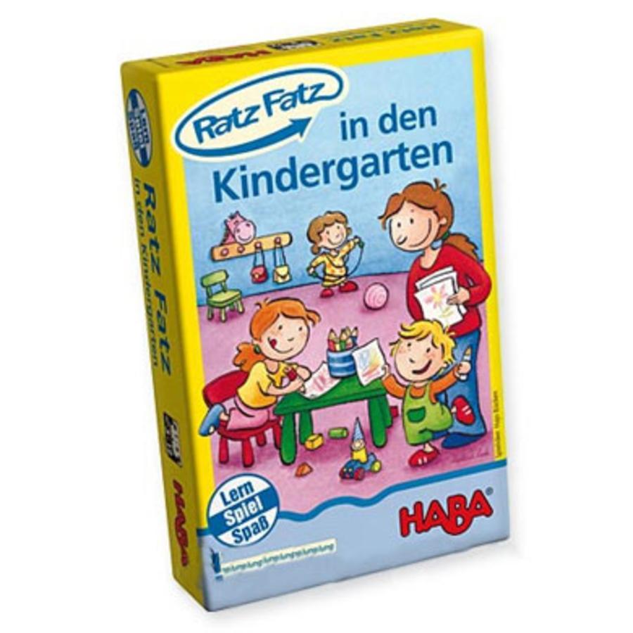 HABA Lernspiel Mini Ratz Fatz In den Kindergarten 4605