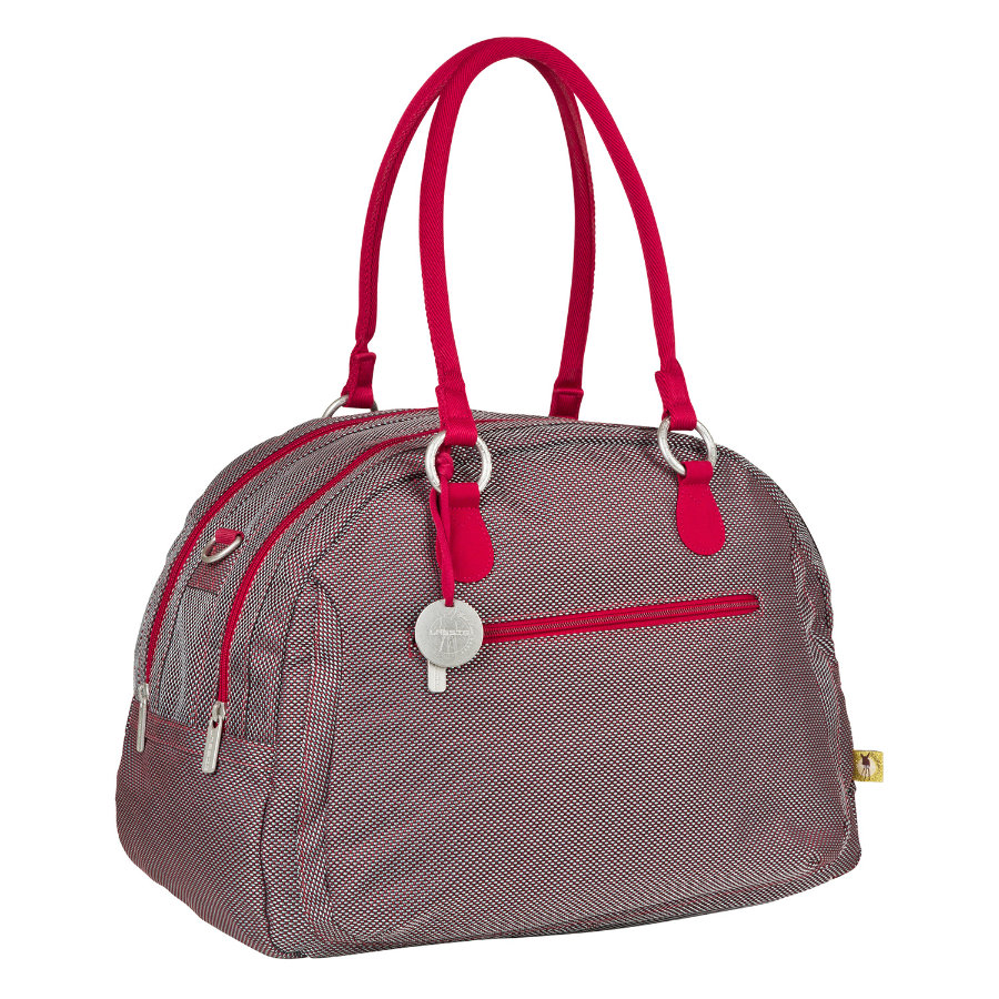 LÄSSIG Skötväska Bowler Bag Metallic Flaming