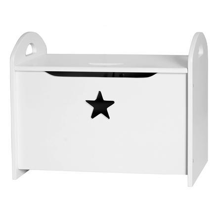 KIDS CONCEPT Säilytyslaatikko Star, valkoinen