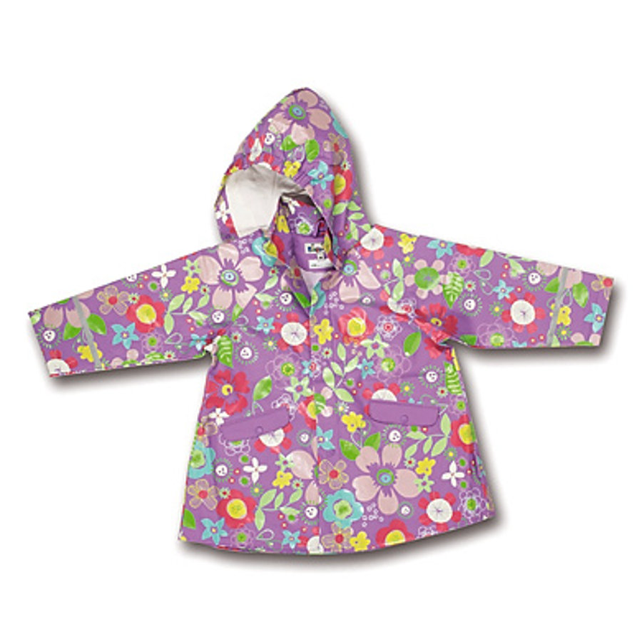 PLAYSHOES Girls Regenmantel FLORA flieder