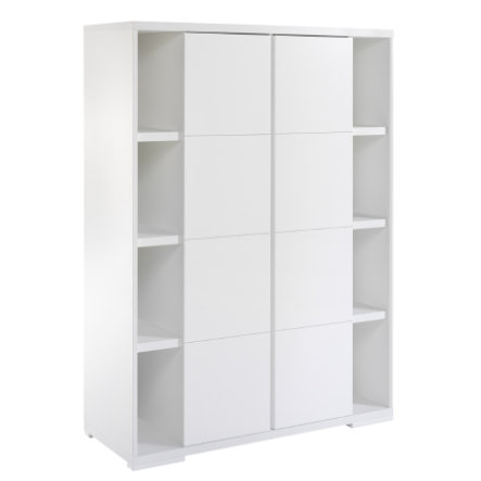 schardt kleiderschrank maximo wei 2 t rig baby. Black Bedroom Furniture Sets. Home Design Ideas