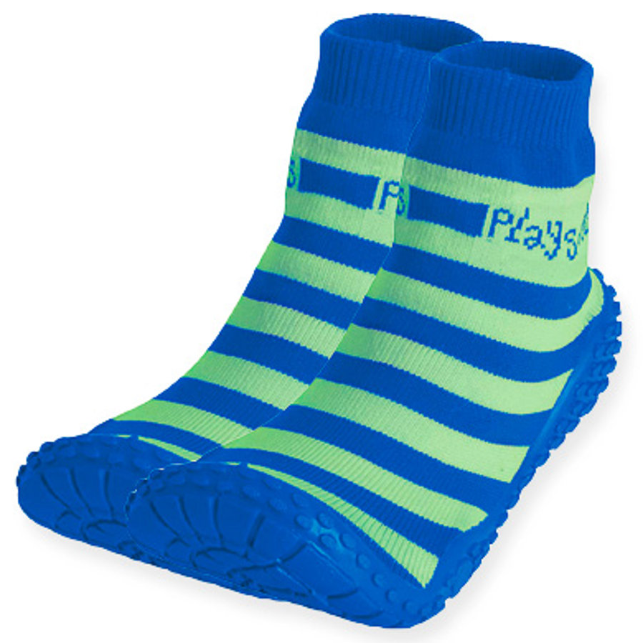 Playshoes Aqua strumpor ränder blå