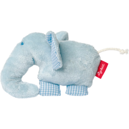 SIGIKID Greifling Quietsch-Elefant - first hugs Organic Collection