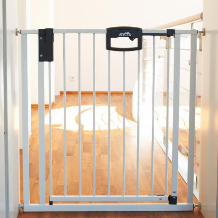 Geuther Barrière de porte Easylock blanc 80,5 - 88,5 cm