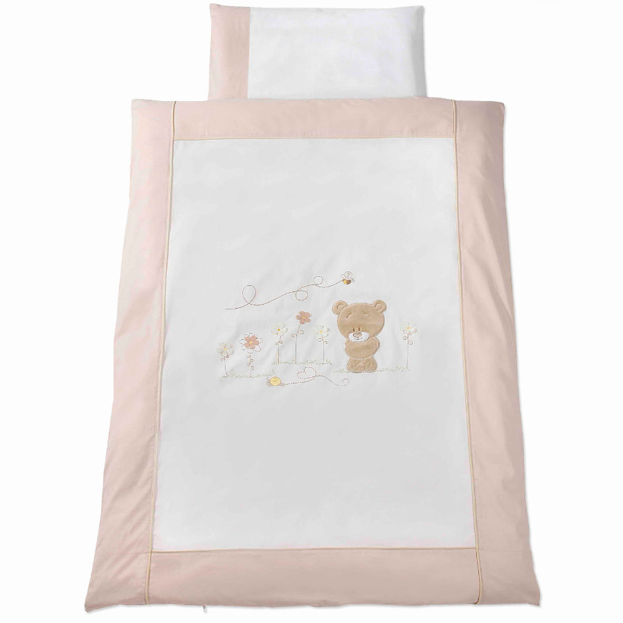Easy Baby Bäddset 100 x 135 cm Honey bear (410-79)