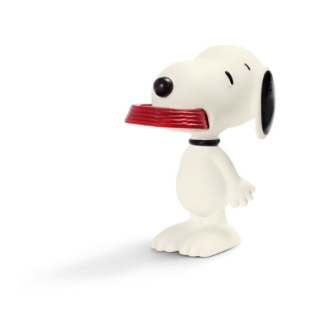 SCHLEICH Snoopy Holding his Supper 22002
