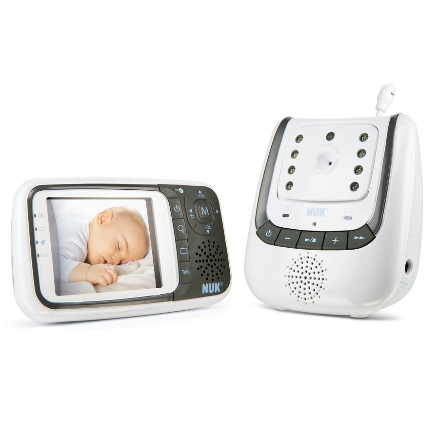 NUK Babyalarm Eco Control + Video, Babyphone