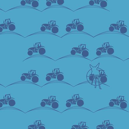 LÄSSIG Twister Baby Multifunctie doek Tractor