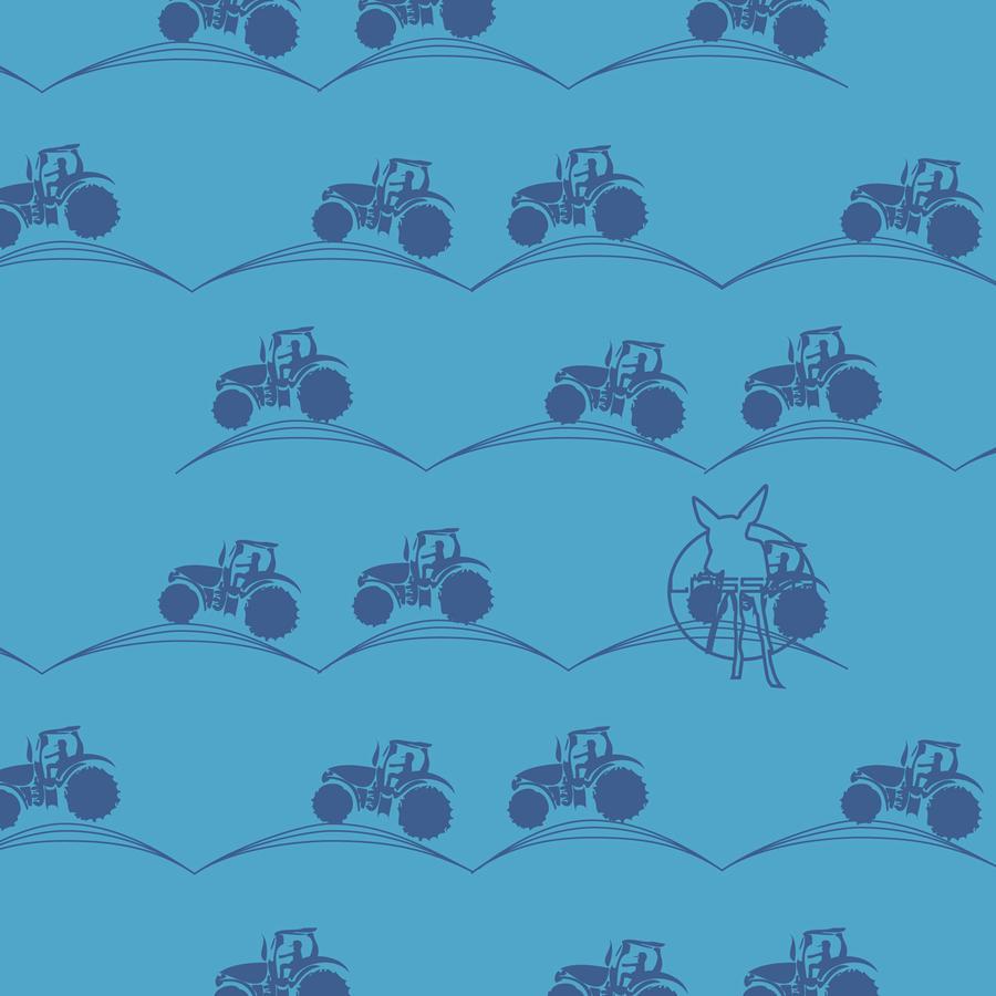 LÄSSIG Twister Baby, Multifunktionssjal Tractor