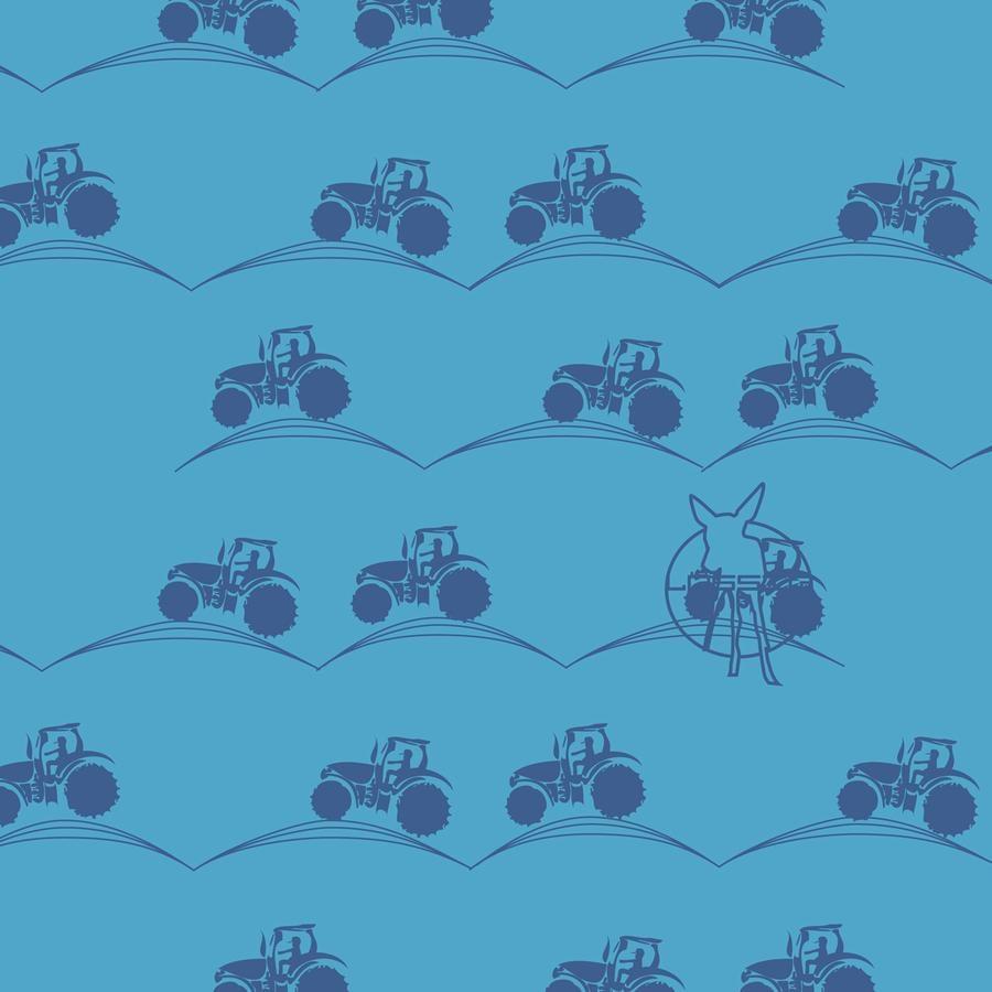 LÄSSIG Twister Baby Multifunktionstuch Tractor