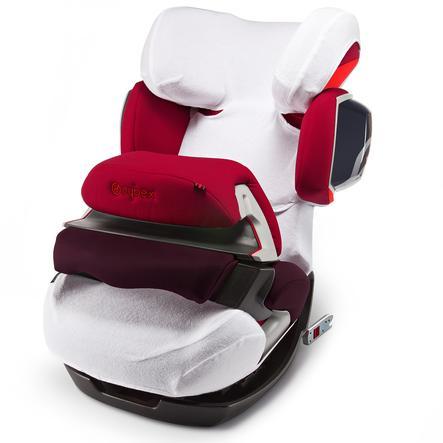 CYBEX Pokrowiec letni na fotelik samochodowy Solution X/X2,-fix, Pallas/Pallas 2,-fix White