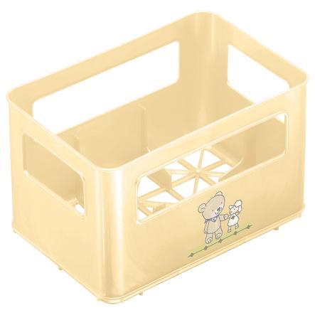 Rotho Babydesign Flaschenbox für Weithalsflaschen Beste Freunde Vanilleperl