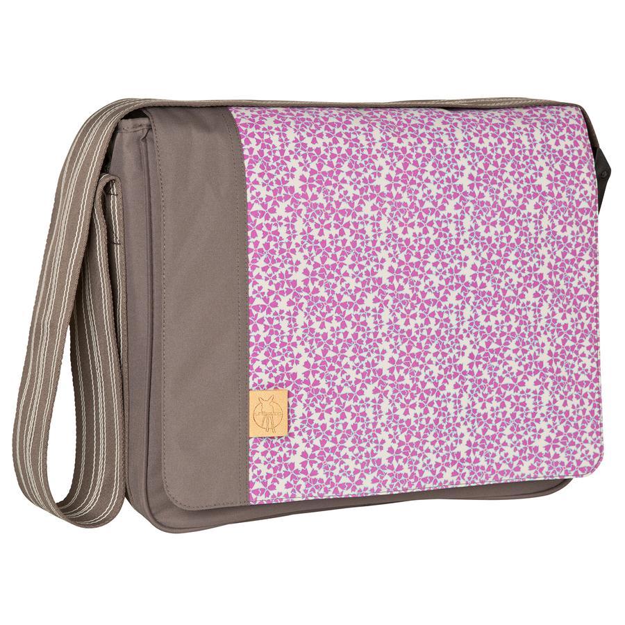 LÄSSIG Wickeltasche Casual Messenger Bag Blossy Slate