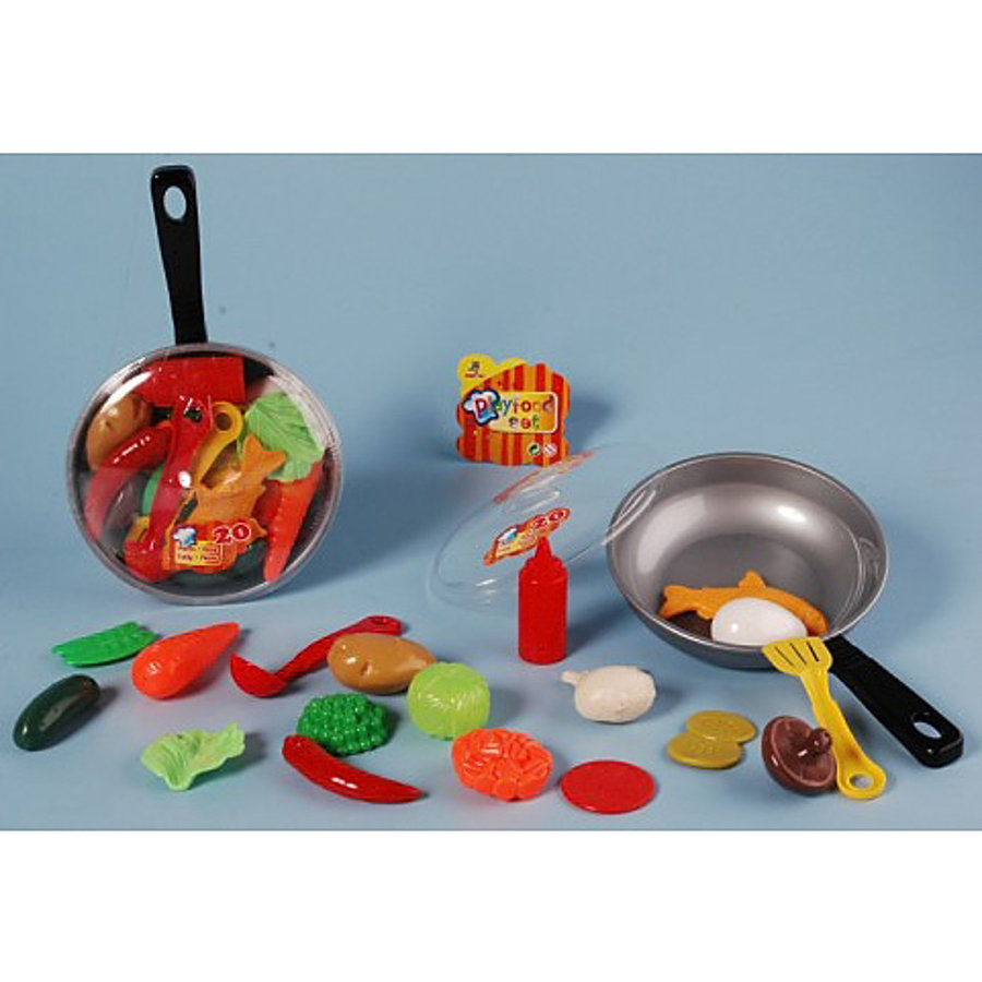 JOHNTOY Pan met Playfood