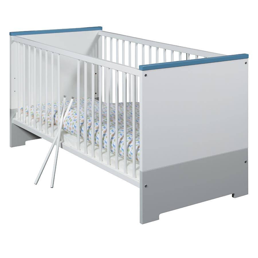Schardt Kombi-Kinderbett Candy Blue