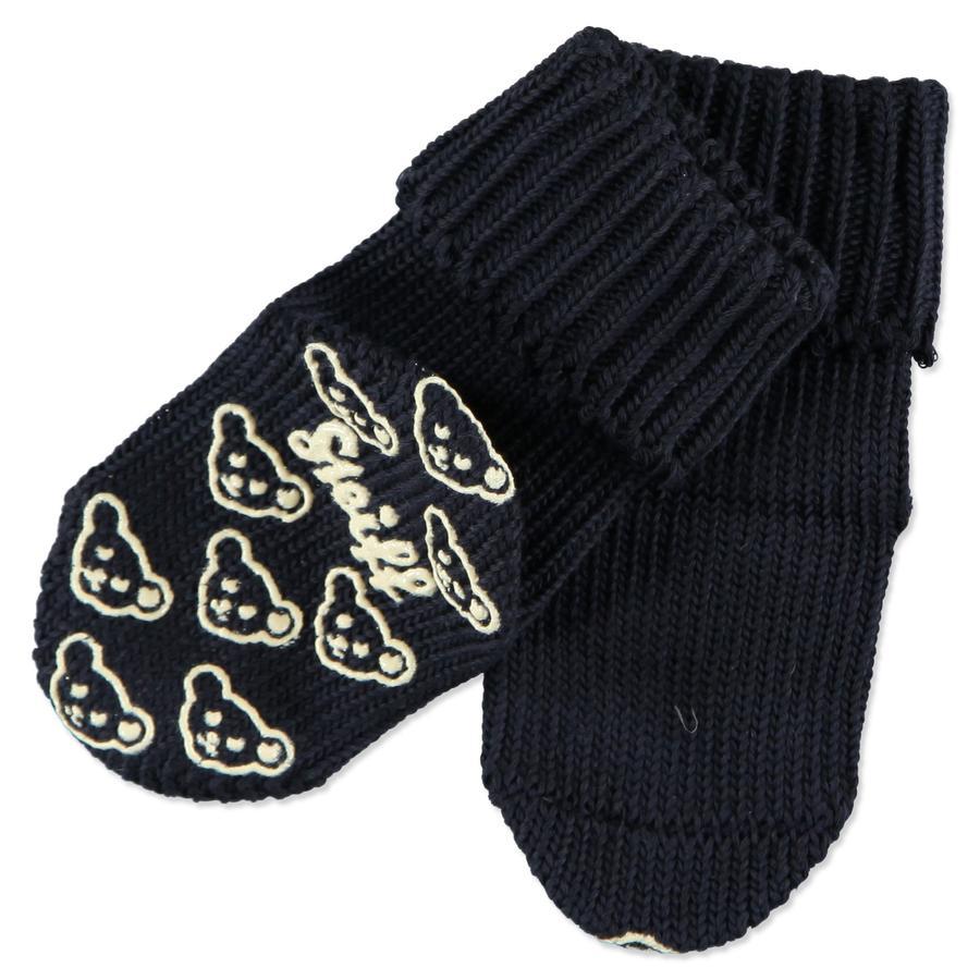 STEIFF Mini Protiskluzové ponožky marine