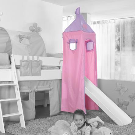 Relita Turm Set groß purple / rosa-Herz