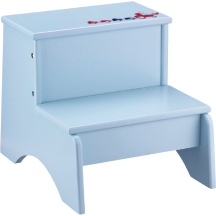 KIDS CONCEPT Step Stool Star, blue