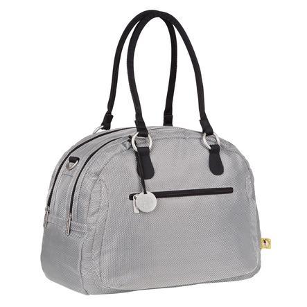 LÄSSIG Skötväska Bowler Bag metallic silver