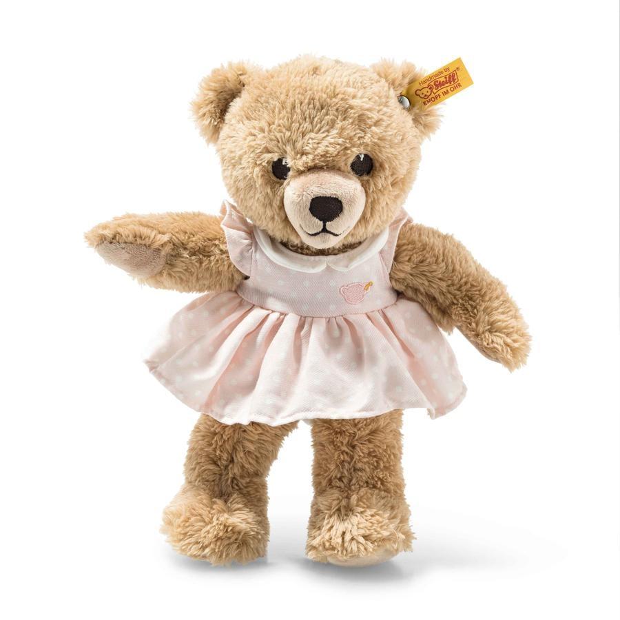 STEIFF Sov-godt-bjørn, 25 cm, rosa