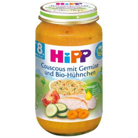 HiPP Bio Couscous mit Gemüse und Bio-Hühnchen 220 g