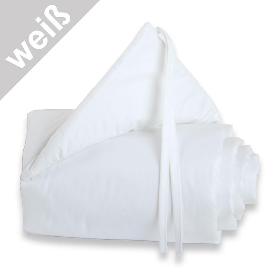 TOBI BABYBAY Ochraniacz  Midi/Mini kolor biały