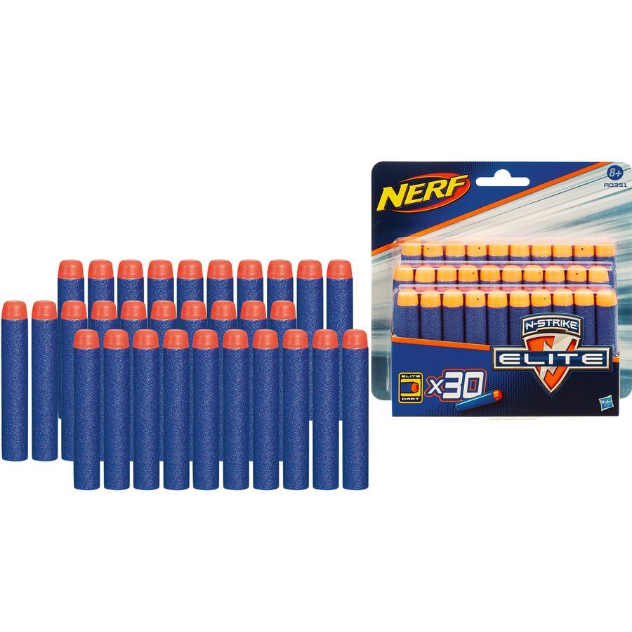 HASBRO Nerf N-Strike Elite Zubehör - 30er Darts Nachfüllpack