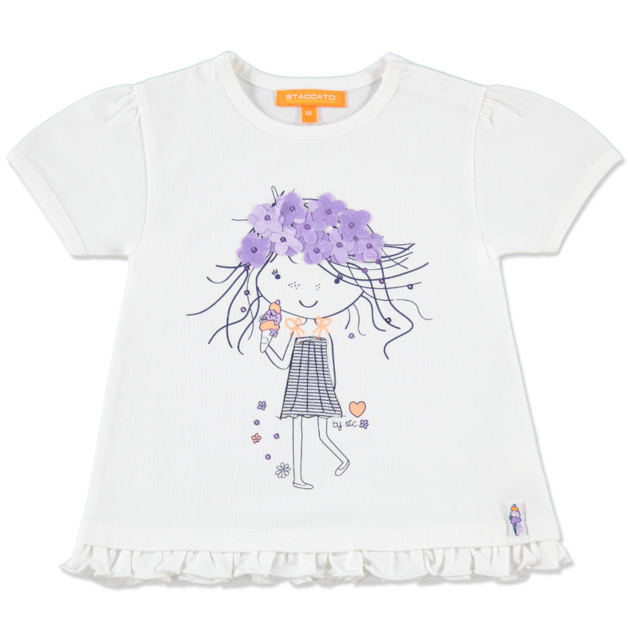 Staccato Girls Mini Tunique, blanc