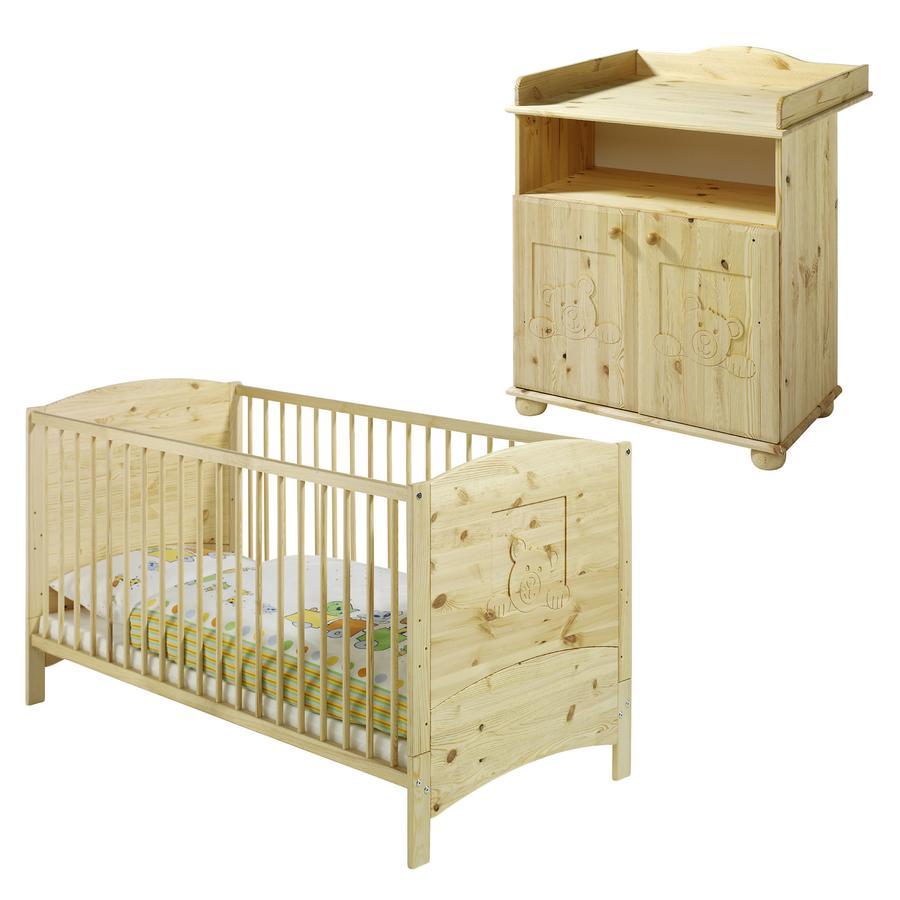 SCHARDT Dream Kit chambre enfant avec lit kit de transformation commode et plateau