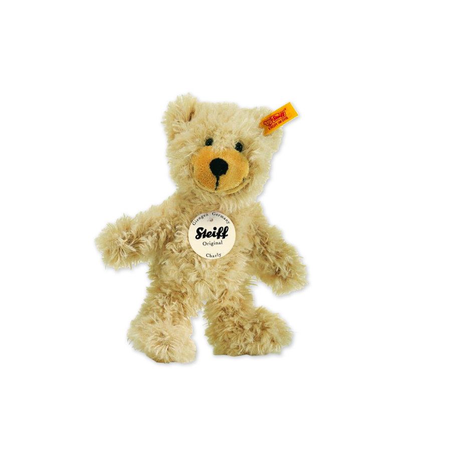 STEIFF Charly Dangling Teddy Bear - 16 cm - Beige