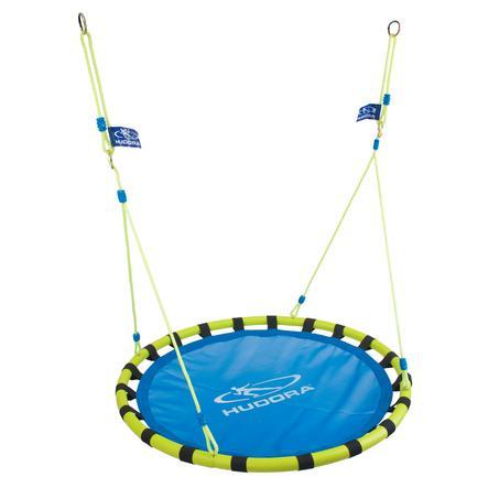 HUDORA Nest swing aluminium 120, blå / gul 72157