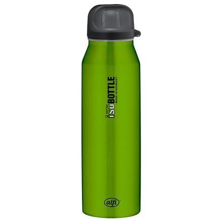 ALFI Trinkflasche ISO Bottle II aus Edelstahl 0,5l Design Pure grün