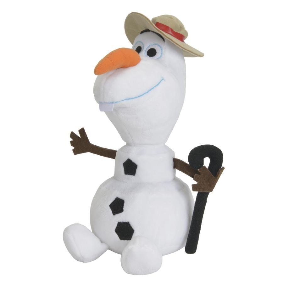 SIMBA Disney La Reine des Neiges - Olaf avec chapeau, 25 cm