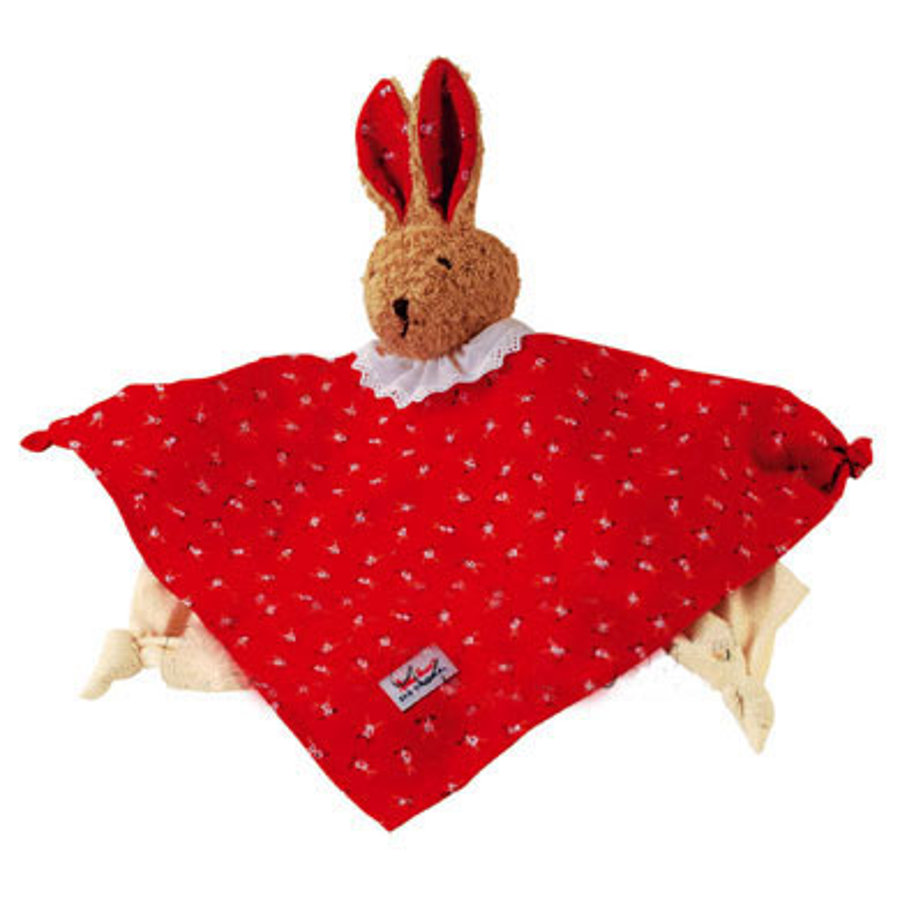 KÄTHE KRUSE Towel Doll Bunny Red