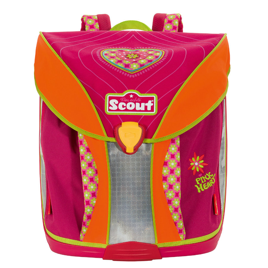SCOUT Tornister Basic Nano Pink Heart