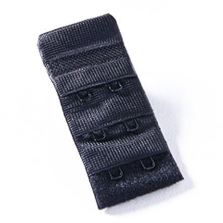 NATURANA Wstawka poszerzająca obwód biustonosza dla kobiet karmiących 3,0 cm kolor czarny