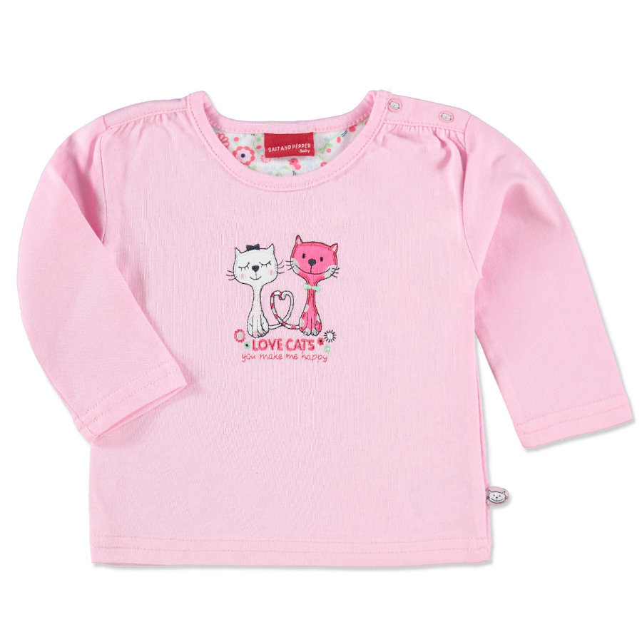 SALT AND PEPPER Girls Baby Longsleeve rosé