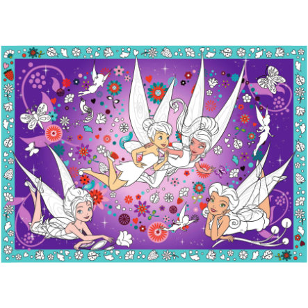 BoMaBi Ausmalposter - Disney Fairies XXL, Friends