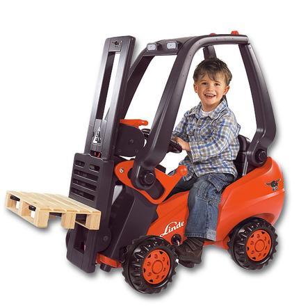 BIG Chariot élévateur à fourche Linde Forklift