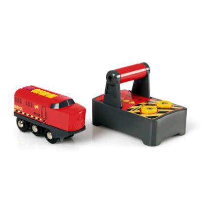BRIO® WORLD IR-Frachtlok 33213