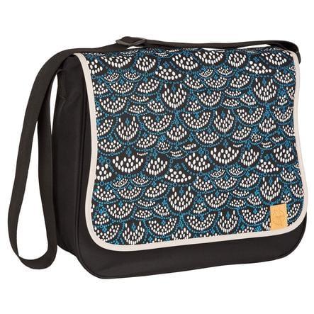 LÄSSIG Nappy Bag Basic Messenger Bag Maya Black