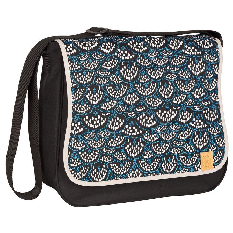 LÄSSIG Borsa Fasciatoio Basic Messenger Bag Maya Black, nero